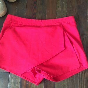 Express Red Shorts Size 4